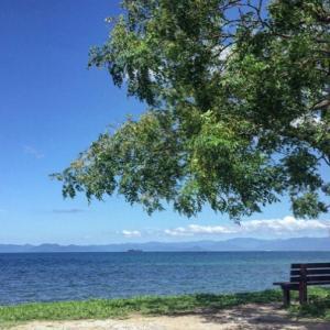 琵琶湖畔へ。