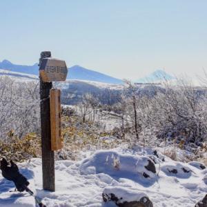 信州・雪山ハイキングの旅♪~鷲ヶ峰編~