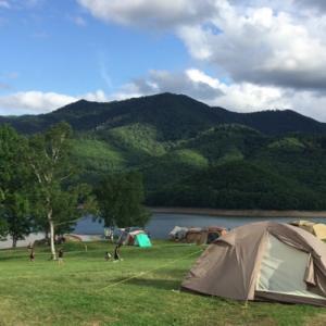 北海道キャンプツーリング♪2019~最終夜は南富良野・かなやま湖畔キャンプ場♪~⑤
