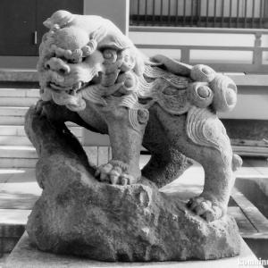 狛犬たちのモノローグ  File834  春日神社