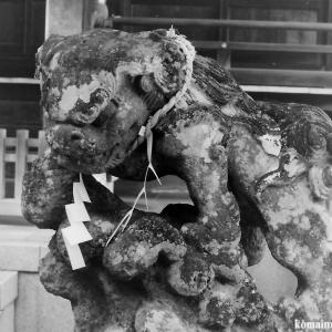 狛犬たちのモノローグ  File835  御霊神社