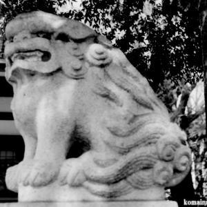 狛犬たちのモノローグ  File858  葛西神社