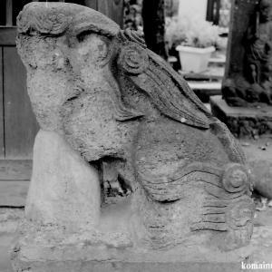 狛犬たちのモノローグ  File869  六所神社