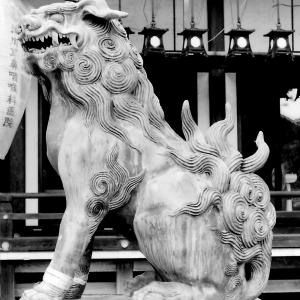 狛犬たちのモノローグ  File923  杭全神社 其の弐
