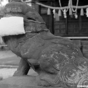 狛犬たちのモノローグ  File975  八幡神社