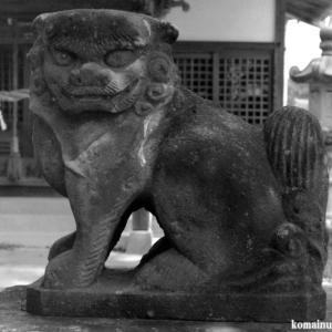 狛犬たちのモノローグ  File1001 香取八幡神社