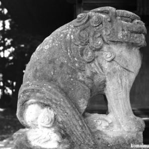狛犬たちのモノローグ  File1017  三輪神社