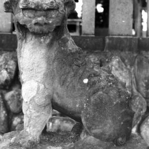 狛犬たちのモノローグ  File1022  大野原愛宕神社