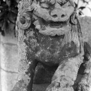 狛犬たちのモノローグ  File1040  御霊神社