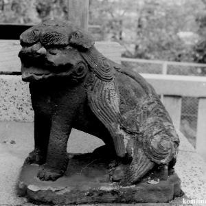 狛犬たちのモノローグ  File820  赤塚諏訪神社  其の弐