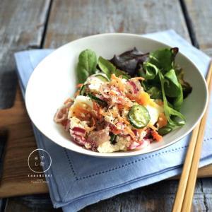 【レシピ】おからのデリ風サラダ@日本栄養士会アンバサダー
