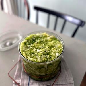 【レシピ】材料2つ♡簡単美味しいザワークラウト