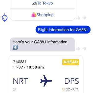 バリ島へ出発編(成田空港)