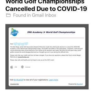 またショックなメールが。。。