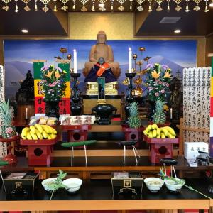 お盆法要(蓮久寺、8月15日)