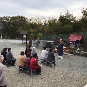 佐藤優子さんの活動報告会(11月1日)