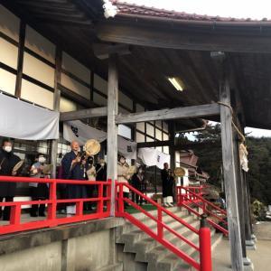 新年祈祷会(1月1日、本増寺)