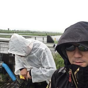 2019年7月16日 霞ヶ浦水系 決戦は大雨でした