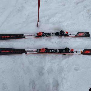 春スキー?