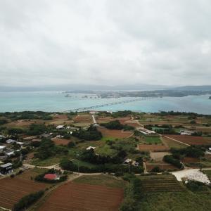 沖縄・古宇利島からの眺め