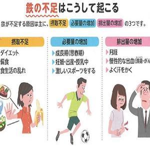 ☆運動していても陥りやすい鉄不足って?!☆