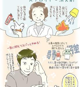 ☆アトピー治療のステロイドは怖くない!!☆