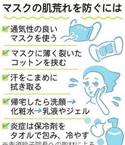 ☆マスク肩こり&マスク頭痛の予防法って?☆