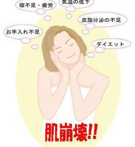 """☆冬の季節に急増する""""肌崩壊""""に要注意!!☆"""