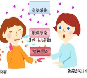 ☆咳・くしゃみ・手からのインフルエンザ感染に御用心!!☆