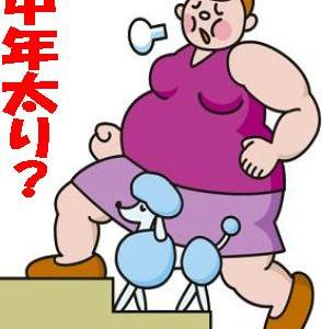 ☆気になる中年太りを避けて通るには?!☆