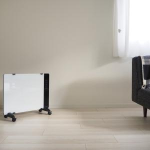 我が家の暖房器具はどれも薄くて収納がラク