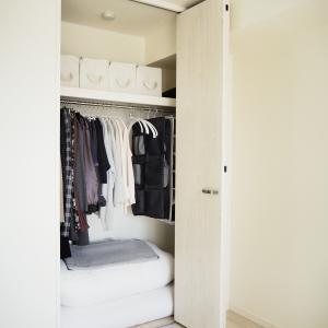 クローゼットのデッドスペースと布団のほこり対策