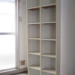 実家片づけ|白い棚の行方