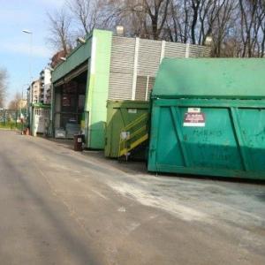 ミラノのゴミ捨て場