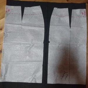 手作り日記、洋裁編、ニットのタイトスカート