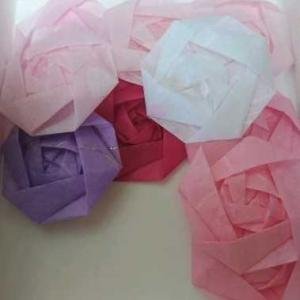 Daisoの和紙折紙