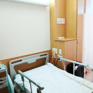 雨ガエル2号さん緊急入院&退院。