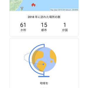 2018年は地球半周