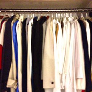 洋服の整理収納~分ける