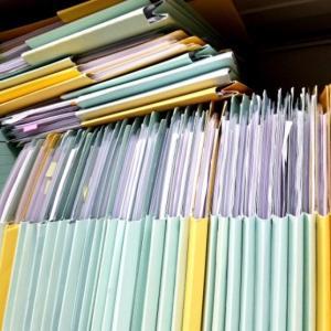 書類の整理〜どこまで置いておく?