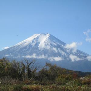 富士がよく見える季節