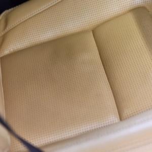 V90 シート座面の伸び、たるみを直す
