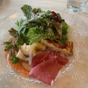 千駄ヶ谷近くのイタリアンレストランで。