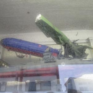 模型の潜水艦