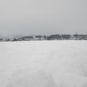 雪原の弓矢