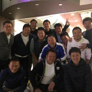 青商会中央OB同志たちとの食事会 2 (栃木メンバーも合流しカラオケ歌合戦)