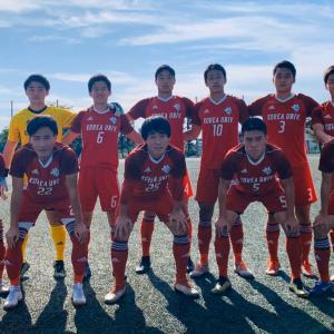 朝鮮大学サッカー部情報 189 (東京都トーナメント優勝!しかし規定により上がれず)