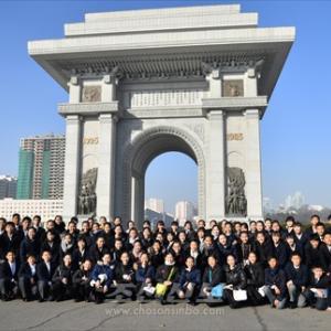 ソルマジ公演 10 (ピョンヤン市内観光の様子)