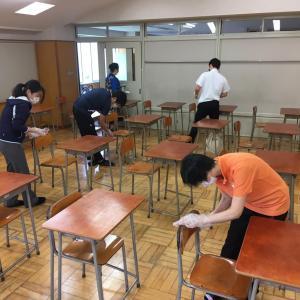 東京中高情報 95 (6月1日~学校再開 教職員たちが校舎内消毒準備の様子はこちら)