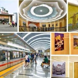 朝鮮民主主義人民共和国の今 71 (平壌で地下鉄駅のリニューアルが進んでいます。)